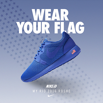 NIKEiD Simple Builder: Olympics 2016